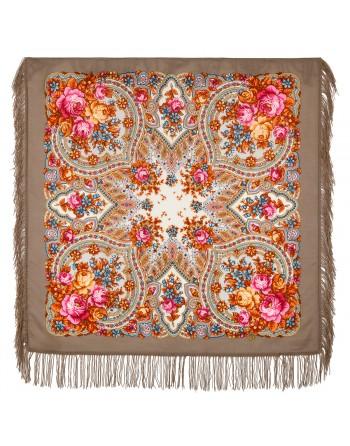 batic-esarfa-sal-din-lana-89x89cm-original-pavlovo-posad-rusia-model-vesenniye-zori-multicolor-pe-fundal-maro