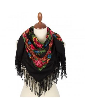 batic-esarfa-sal-din-lana-89x89cm-original-pavlovo-posad-rusia-model-matryoshka-multicolor-pe-fundal-negru