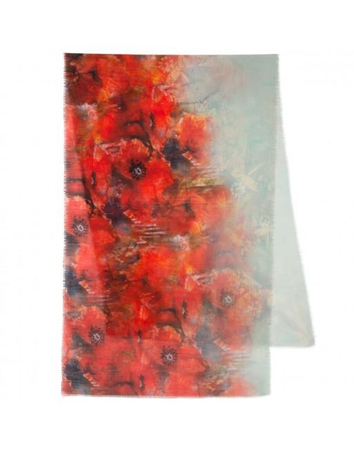 esarfa-sal-din-lana-230x80cm-originala-pavlovo-posad-rusia-model-floral-multicolor-pe-fundal-gri