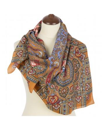 batic-esarfa-sal-din-lana-89x89cm-original-pavlovo-posad-rusia-model-berega-zhelaniy-multicolor-pe-fundal-mov-lila