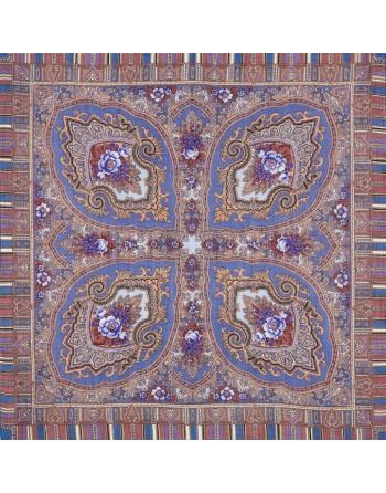batic-esarfa-sal-din-lana-89x89cm-original-pavlovo-posad-rusia-model-alenkiy-tsvetochek-multicolor-pe-fundal-mov