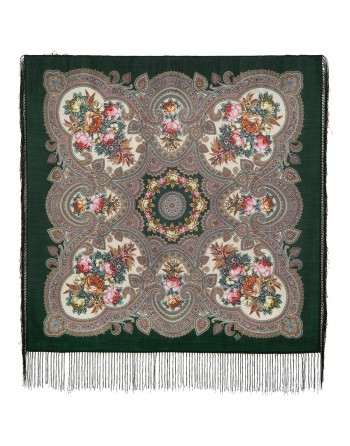 batic-esarfa-sal-din-lana-89x89cm-original-pavlovo-posad-rusia-model-svidanye-s-letom-multicolor-pe-fundal-verde