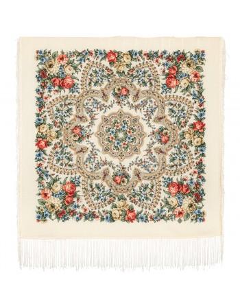batic-esarfa-lana-89x89cm-original-pavlovo-posad-rusia-model-floral-vesenneye-probuzhdeniye-multicolor-pe-fundal-alb