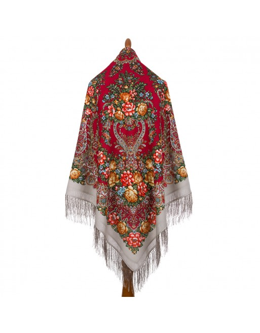 sal-esarfa-batic-din-lana-146x146cm-original-pavlovo-posad-rusia-model-floral-ladoga-multicolor-pe-fundal-gri