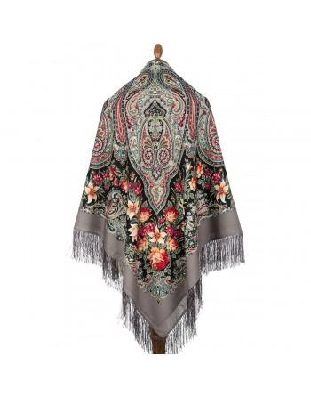 sal-esarfa-batic-lana-146x146cm-original-pavlovo-posad-rusia-floral-tsvetochnyy-kaleydoskop-multicolor-pe-fundal-gri