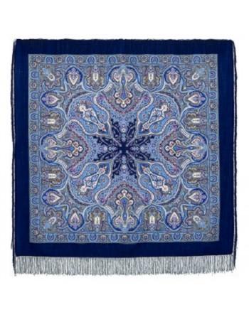 sal-esarfa-batic-basma-lana-146x146cm-original-pavlovo-posad-rusia-model-ispanskiy-pe-fundal-albastru