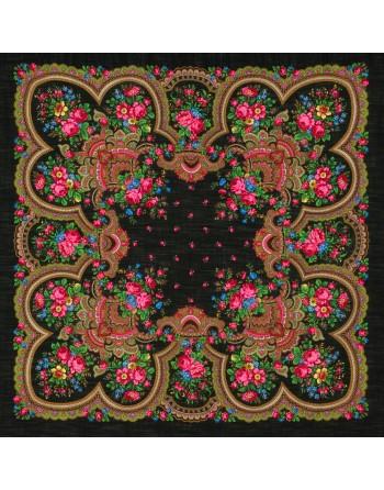 sal-esarfa-basma-batic-lana-125x125cm-original-pavlovo-posad-rusia-model-floral-dushevnyy-razgovor-fundal-negru