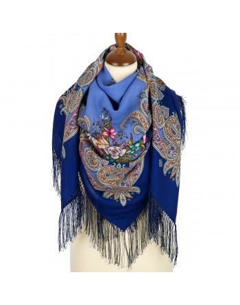 sal-esarfa-basma-batic-lana-125x125cm-original-pavlovo-posad-rusia-model-luch-solntsa-zolotogo-multicolor-pe-albastru-