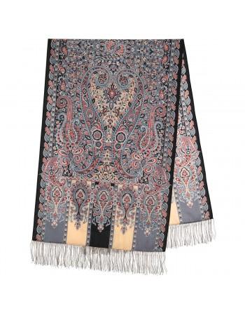 sal-esarfa-din-lana-200x70cm-original-pavlovo-posad-rusia-model-chetyre-vetra-multicolor-pe-fundal-negru