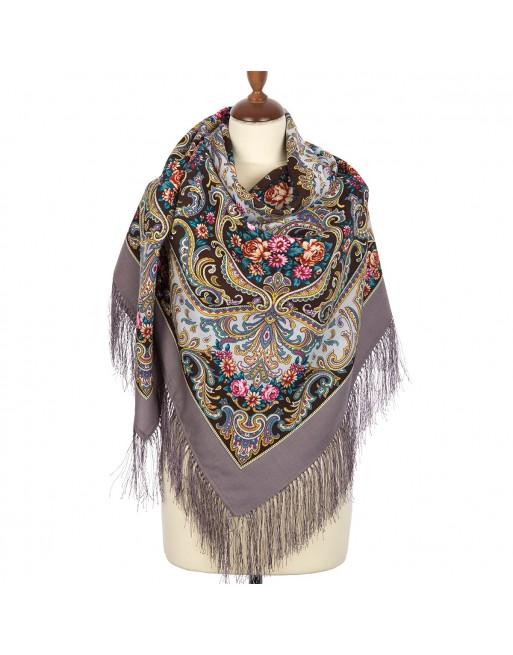 sal-esarfa-basma-batic-lana-135x135cm-original-pavlovo-posad-rusia-model-osenniy-romans-multicolor-pe-fundal-gri