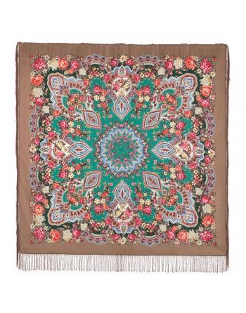 sal-esarfa-basma-batic-din-lana-146x146cm-original-pavlovo-posad-rusia-model-floral-knyajna-multicolor-pe-fundal-maro