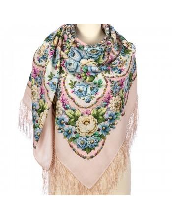 sal-esarfa-basma-batic-lana-146x146cm-original-pavlovo-posad-rusia-model-floral-imeniny-serdtsa-multicolor-pe-fundal-roz