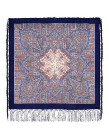 batic-esarfa-basma-sal-lana-89x89cm-original-pavlovo-posad-rusia-model-sozertsaniye-multicolor-pe-fundal-albastru