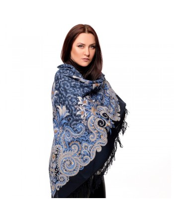 sal-esarfa-basma-batic-lana-125x125cm-original-pavlovo-posad-rusia-model-morozko-multicolor-pe-fundal-albastru