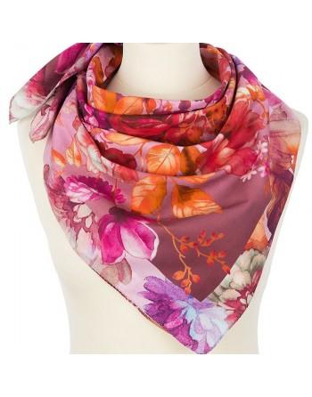10343-3-batic-din-bumbac-80x80cm-original-pavlovo-posad-rusia-model-floral-multicolor-pe-fundal-roz