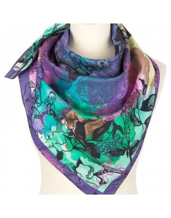 10707-15-batic-din-bumbac-80x80cm-original-pavlovo-posad-rusia-model-floral-multicolor-pe-fundal-mov