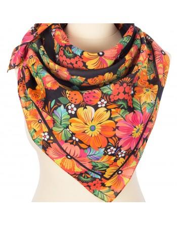 10835-18-batic-din-bumbac-80x80cm-original-pavlovo-posad-rusia-model-floral-multicolor-pe-fundal-negru