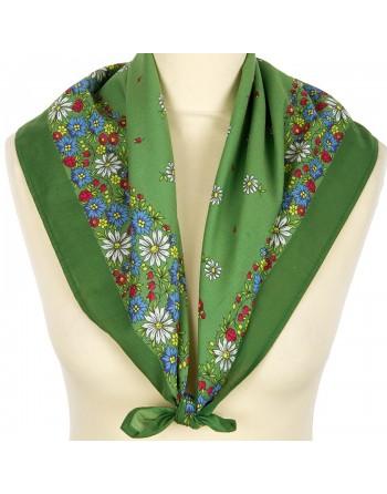 1127-10-batic-din-bumbac-80x80cm-original-pavlovo-posad-rusia-model-floral-romashki-pe-fundal-verde