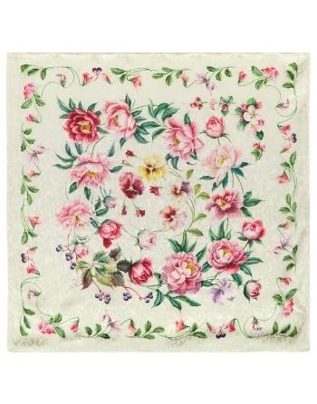 10027-0-esarfa-din-matase-naturala-89x89cm-originala-pavlovo-posad-rusia-model-floral-anyutiny-glazki-pe-fundal-crem