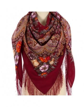 sal-esarfa-basma-batic-lana-146x146cm-original-pavlovo-posad-rusia-model-floral-letneye-chudo-multicolor-pe-fundal-rosu