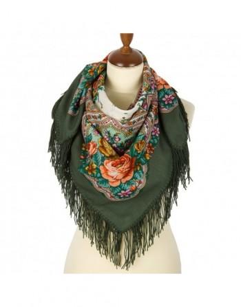 batic-esarfa-sal-din-lana-89x89cm-original-pavlovo-posad-rusia-model-vesenniye-zori-multicolor-pe-fundal-verde
