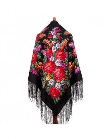 sal-esarfa-batic-din-lana-148x148cm-rusesc-original-pavlovo-posad-model-den-pobedy-multicolor-pe-fundal-negru