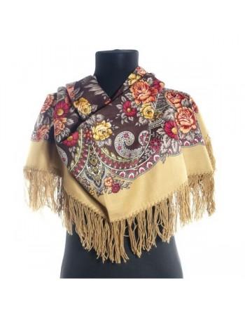 batic-esarfa-sal-din-lana-89x89cm-original-pavlovo-posad-rusia-model-charovnitsa-multicolor-pe-fundal-maro
