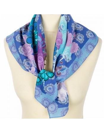 10318-14-batic-din-bumbac-80x80cm-original-pavlovo-posad-rusia-model-floral-multicolor-pe-fundal-albastru