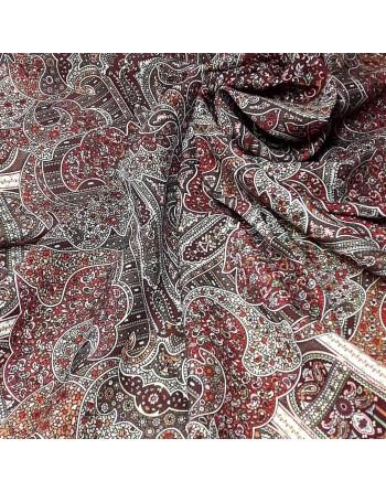 789-2-batic-esarfa-sal-din-lana-89x89cm-original-pavlovo-posad-rusia-model-den-rozhdenya-multicolor-pe-fundal-rosu-grena