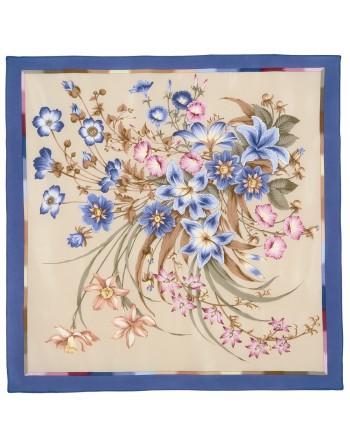 661-14-esarfa-din-matase-naturala-89x89cm-originala-pavlovo-posad-rusia-model-floral-chistyye-rosype-fundal-albastru