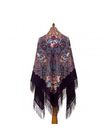 1694-15-sal-esarfa-batic-din-lana-146x146cm-original-pavlovo-posad-rusia-model-floral-torzhestvo-leta-multicolor-pe-fundal-mov