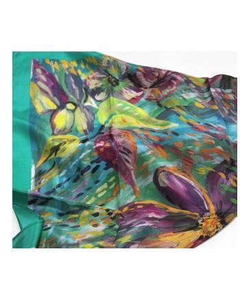 esarfa-din-matase-naturala-65x65cm-originala-pavlovo-posad-rusia-model-floral-nyuans-multicolor-pe-fundal-verde-cod-10006-9