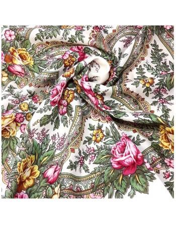 1756-0-batic-esarfa-din-lana-72x72cm-rusesc-original-pavlovo-posad-model-vspleski-radosti-multicolor-pe-fundal-alb