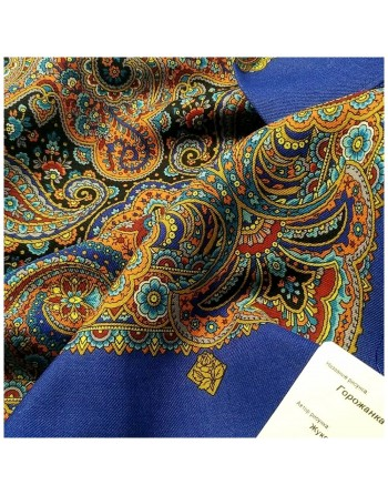 batic-esarfa-sal-din-lana-89x89cm-original-pavlovo-posad-rusia-model-gorozhanka-multicolor-pe-fundal-albastru