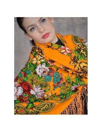 373-0-sal-esarfa-batic-din-lana-148x148cm-original-pavlovo-posad-rusia-model-floral-belyye-rozy-pe-fundal-galben