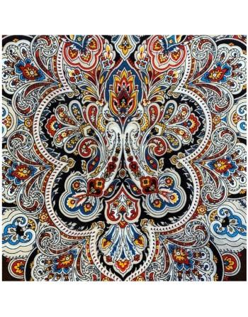 batic-esarfa-basma-sal-lana-89x89cm-original-pavlovo-posad-rusia-model-solovushka-multicolor-pe-fundal-maro