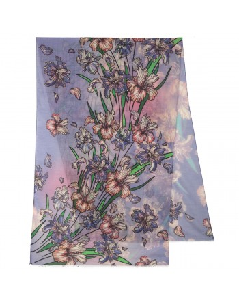 10755-13-esarfa-din-lana-230x80cm-originala-pavlovo-posad-rusia-model-floral-multicolor-pe-fundal-albastru