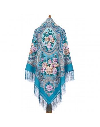 1873-11-sal-din-lana-146x146cm-original-pavlovo-posad-rusia-model-floral-sibirskaya-krasavitsa-pe-fundal-albastru