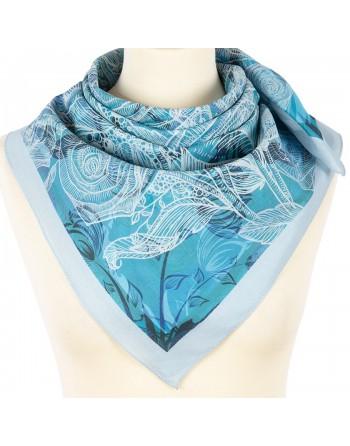 10585-13-batic-din-bumbac-80x80cm-original-pavlovo-posad-rusia-model-floral-multicolor-pe-fundal-albastru