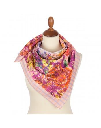10851-3-batic-din-bumbac-80x80cm-original-pavlovo-posad-rusia-model-floral-multicolor-pe-fundal-roz