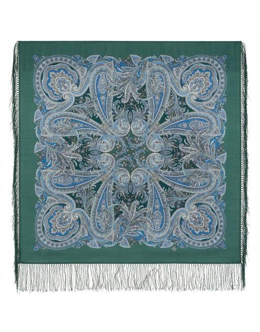 1929-9-batic-din-lana-89x89cm-original-pavlovo-posad-rusia-model-samyy-luchyy-den-pe-fundal-verde