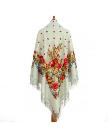 1061-01-sal-din-lana-146x146cm-original-pavlovo-posad-rusia-model-floral-svadebnyye-lenty-pe-fundal-gri