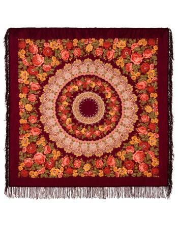 353-7-sal-din-lana-146x146cm-original-pavlovo-posad-rusia-model-floral-molitva-pe-fundal-rosu-grena