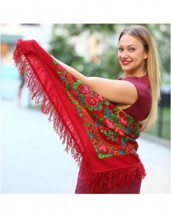 batic-esarfa-sal-din-lana-89x89cm-original-pavlovo-posad-rusia-model-matryoshka-multicolor-pe-fundal-rosu