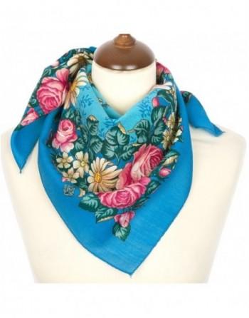 batic-esarfa-basma-lana-72x72cm-pavlovo-posad-rusia-model-floral-tanets-fey-multicolor-pe-fundal-albastru