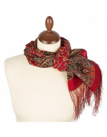 esarfa-sal-din-lana-150x60cm-originala-pavlovo-posad-rusia-model-medeya-multicolor-pe-fundal-rosu