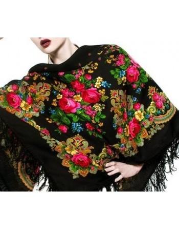 sal-esarfa-batic-din-lana-125x125cm-original-pavlovo-posad-rusia-model-letniye-sumerki-multicolor-pe-fundal-negru-