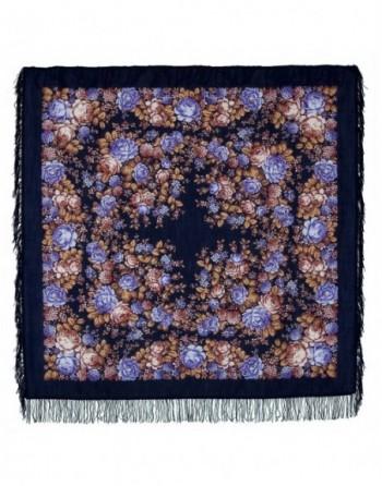 sal-esarfa-batic-lana-146x146cm-original-pavlovo-posad-rusia-model-tsvetochnaya-skazka-multicolor-fundal-albastru-inchis