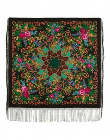 sal-esarfa-batic-din-lana-148x148cm-rusesc-original-pavlovo-posad-model-tsyganka-aza-multicolor-pe-fundal-negru