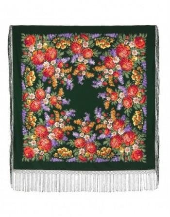sal-esarfa-batic-din-lana-148x148cm-rusesc-original-pavlovo-posad-model-den-pobedy-multicolor-pe-fundal-verde